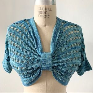 FREE w/purchase NWT CANDIES Shrug Sweater Cardigan